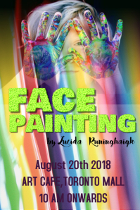 FACE PAINTING POSTER 01