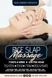 Face Slap Massage Poster