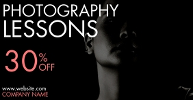 facebook ad photography lessons design templa Facebook-Anzeige template