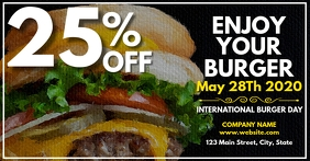 facebook advertisement for international burg