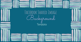 Facebook Artsy Background Template