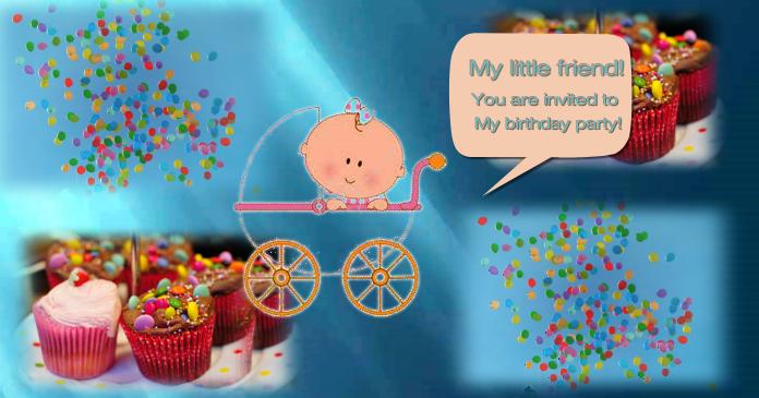 Facebook birthday invitation