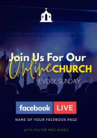 facebook church flyer
