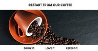 facebook coffee advertisement post template
