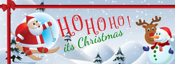 facebook cover christmas flyer template