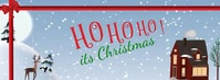 facebook cover christmas flyer Zdjęcie w tle na Facebooka template