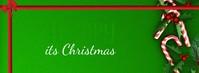 facebook cover christmas flyer template