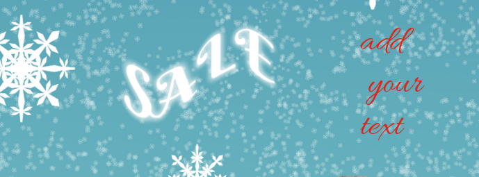 facebook cover christmas sale