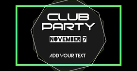 Facebook cover club party