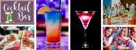 Facebook Cover Cocktail Bar Template Facebook-Cover