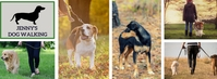 Facebook Cover Dog Walking Services Template