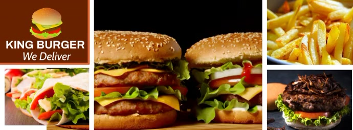 Facebook Cover Fast Food Restaurant Template