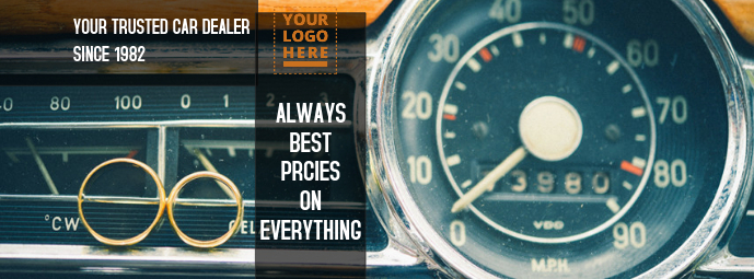 Facebook cover for car related Facebook-Cover template