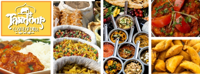 Facebook Cover Indian Restaurant Template