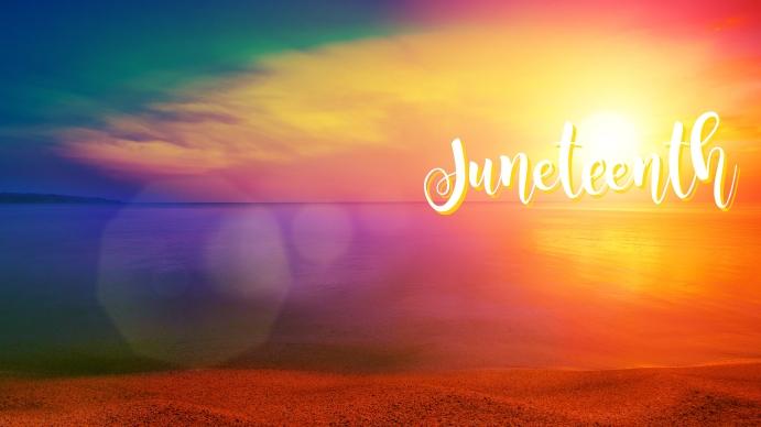 Facebook Cover Juneteenth Omslagfoto YouTube-kanaal template