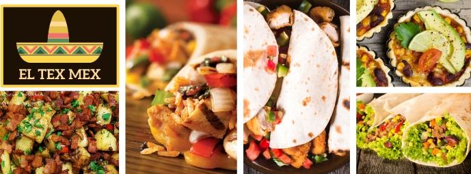 Facebook Cover Mexican Restaurant Template Facebook-omslagfoto