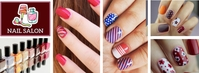 Facebook Cover Nail Salon Template