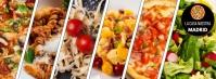 Facebook Cover Pasta Italian Restaurant template