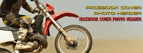 Facebook Cover Photo Dirt Bike template