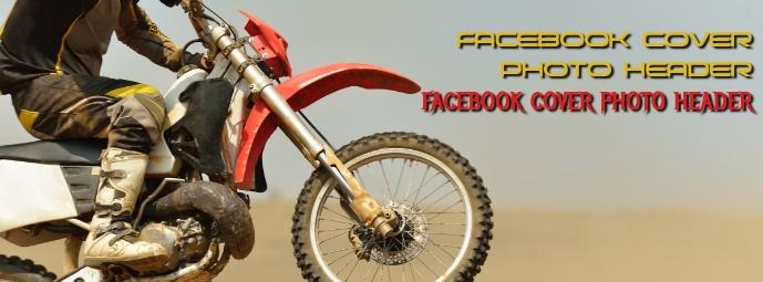 Facebook Cover Photo Dirt Bike