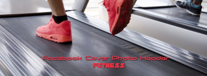 Facebook Cover Photo Fitness Jogging Exercise Zdjęcie w tle na Facebooka template