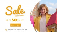 Facebook Cover Sale Banner template