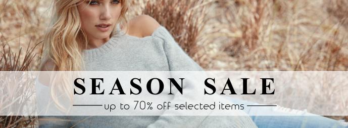 Facebook Cover Season sale summer template fashion