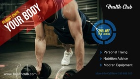 Facebook Cover Video Fitness