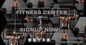 Facebook Fitness Center Template