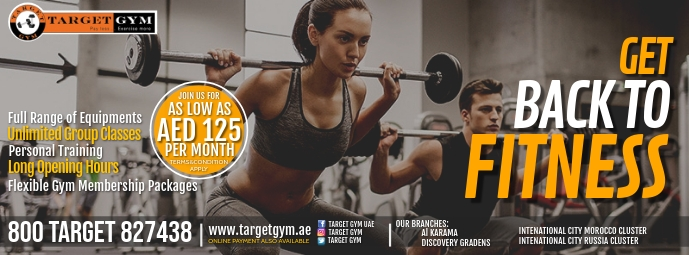 Facebook Fitness Cover template