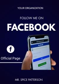 Facebook flyers A3 template