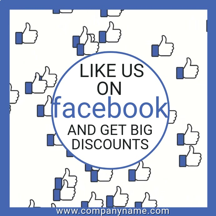 Facebook Likes Video Template