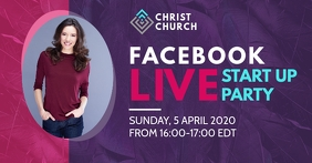 Facebook Live Party Post