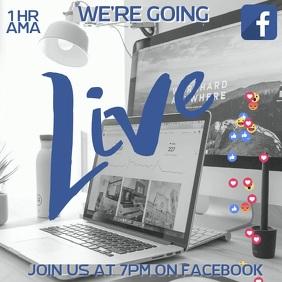Facebook Live Video Instagram Ad Template