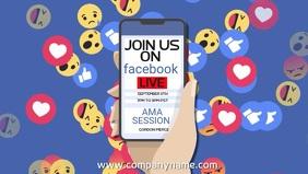 Facebook Live Video Template