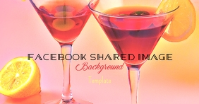 Facebook Martini Background Template