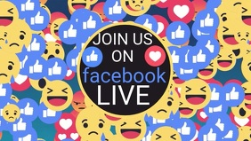 Facebook Page Live Promotion Cover Video