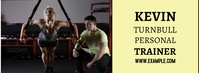 Facebook Personal Trainer Banner template