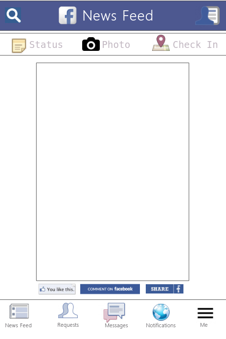 facebook prop frame template postermywall