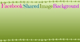 Facebook Shared Image Background template