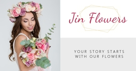 Facebook Shop Cover flowers store