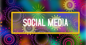 Facebook social media header