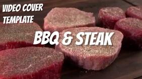 Facebook steak Digitale display (16:9) template