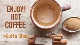 facebook video tempalte coffee shop