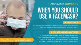 Facemasks for Coronavirus Prevention Facebook