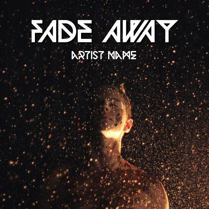 Fade away Sampul Album template
