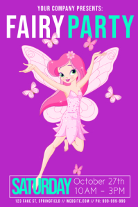 Fairy Party Poster