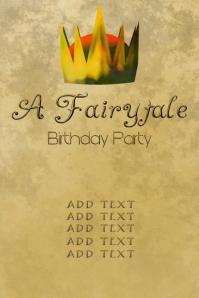 fairytale birthday party