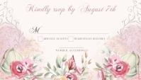 Fairytale RSVP Card นามบัตร template
