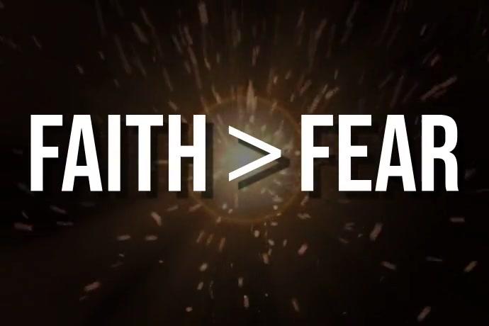 Faith > Fear โปสเตอร์ template